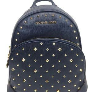 Abbey Navy Backpack price firm
